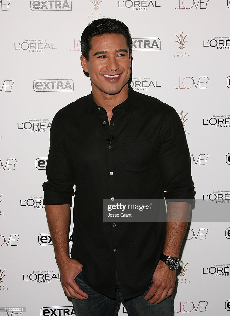 <a gi-track='captionPersonalityLinkClicked' href=/galleries/search?phrase=Mario+Lopez&family=editorial&specificpeople=235992 ng-click='$event.stopPropagation()'>Mario Lopez</a> attends Extra's special pre-release party for Jennifer lopez's new album 'Love?.' held at The Grove on April 29, 2011 in Los Angeles, California.
