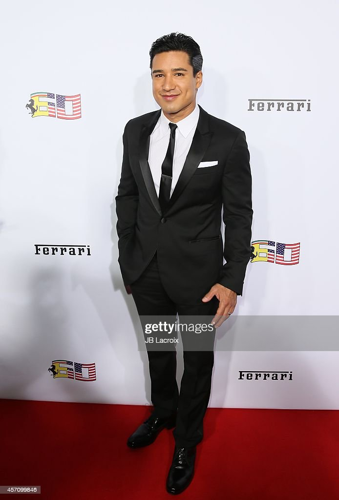 Mario Lopez attends Ferrari's 60th Anniversary in the USA Gala at the Wallis Annenberg Center for the Performing Arts on October 11, 2014 in Beverly Hills, California.