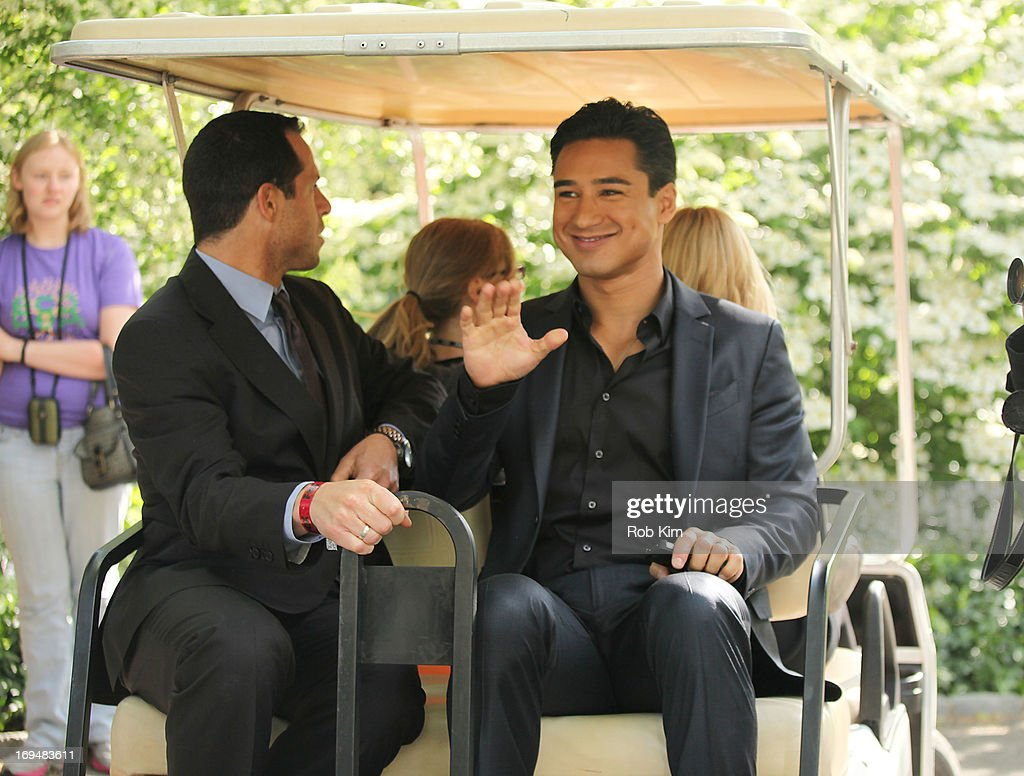 Mario Lopez attends FOX 2103 Programming Presentation Post-Party at Wollman Rink - Central Park on May 13, 2013 in New York City.