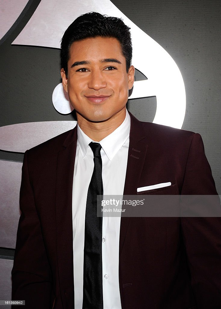 Mario Lopez attends the 55th Annual GRAMMY Awards at STAPLES Center on February 10, 2013 in Los Angeles, California.