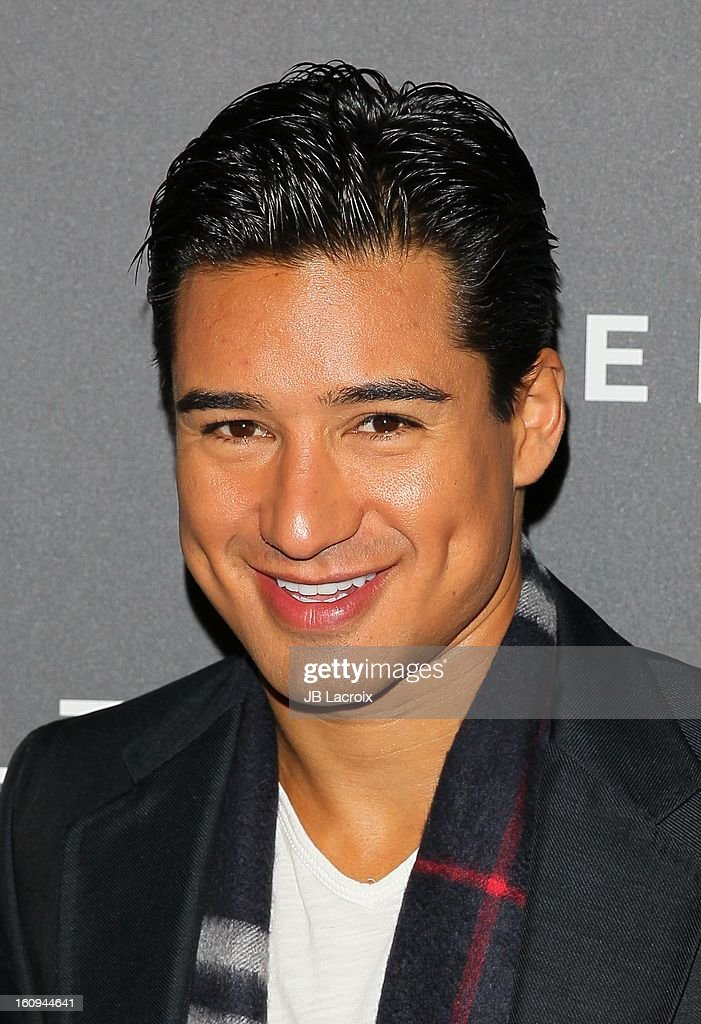Mario Lopez attends the Delta Airlines GRAMMY Week LA Music Industry held at The Getty House on February 7, 2013 in Los Angeles, California.