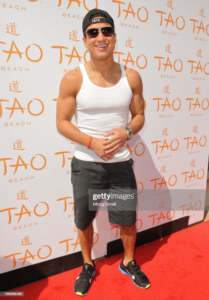 <a gi-track='captionPersonalityLinkClicked' href=/galleries/search?phrase=Mario+Lopez&family=editorial&specificpeople=235992 ng-click='$event.stopPropagation()'>Mario Lopez</a> attends the grand opening season of Tao Beach at the Venetian Hotel and Casino on May 4, 2013 in Las Vegas, Nevada.