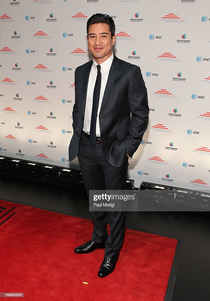 Mario Lopez attends the Latino Inaugural 2013 at The Kennedy Center on January 20, 2013 in Washington, DC.