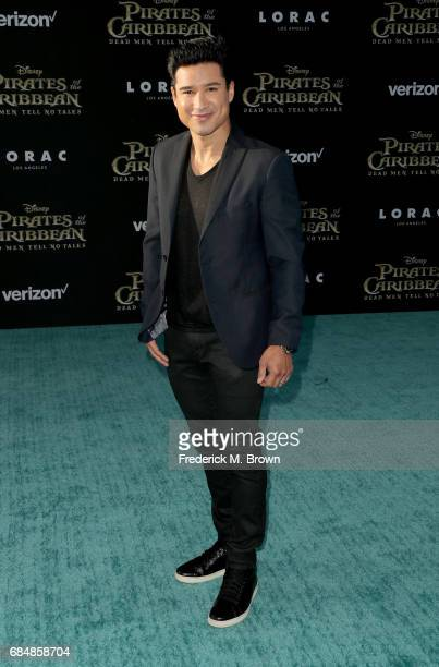 Mario Lopez attends the premiere of Disney's 'Pirates Of The Caribbean Dead Men Tell No Tales' at Dolby Theatre on May 18 2017 in Hollywood California