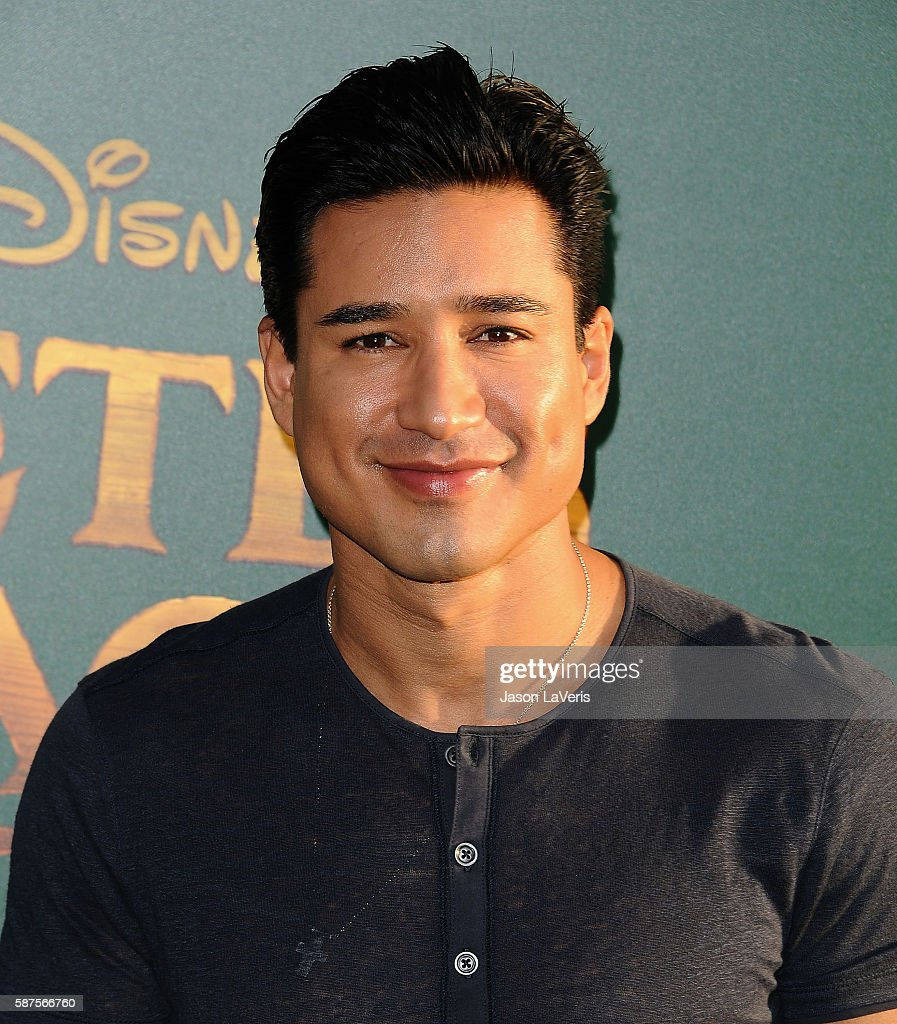 Mario Lopez attends the premiere of 'Pete's Dragon' at the El Capitan Theatre on August 8 2016 in Hollywood California