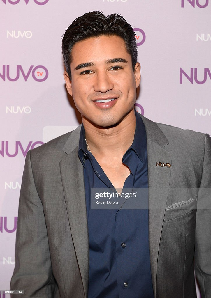 Mario Lopez backstage at the NUTOtv 2013 Upfront Event at The Edison Ballroom on May 15, 2013 in New York City.