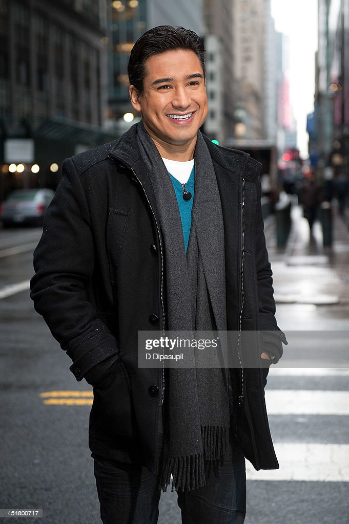 Mario Lopez hosts 'Extra' at Michael Jordan's The Steak House NYC in Grand Central Terminal on December 10 2013 in New York City