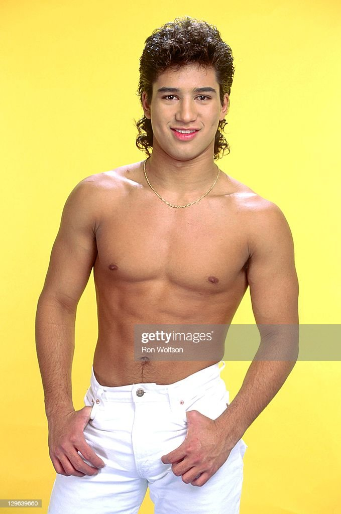 <a gi-track='captionPersonalityLinkClicked' href=/galleries/search?phrase=Mario+Lopez&family=editorial&specificpeople=235992 ng-click='$event.stopPropagation()'>Mario Lopez</a> in a private photo shoot at Ron Wolfson's Studio on June, 17, 1990 in Studio City, CA. (Photo By Ron Wolfson/Getty Images).