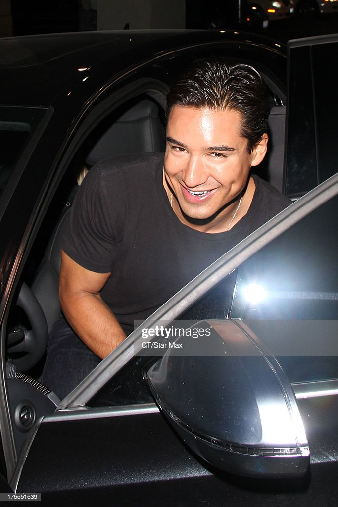 <a gi-track='captionPersonalityLinkClicked' href=/galleries/search?phrase=Mario+Lopez&family=editorial&specificpeople=235992 ng-click='$event.stopPropagation()'>Mario Lopez</a> is seen on August 3, 2013 in Los Angeles, California.