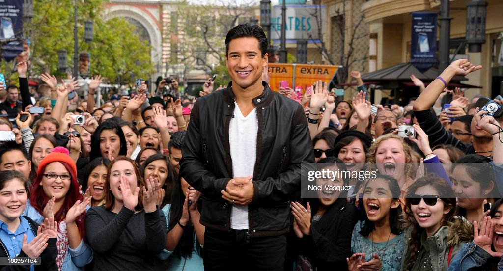 Mario Lopez visits Extra at The Grove on February 7, 2013 in Los Angeles, California.
