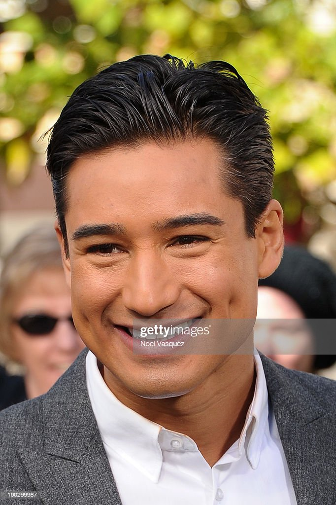 Mario Lopez visits Extra at The Grove on January 28, 2013 in Los Angeles, California.