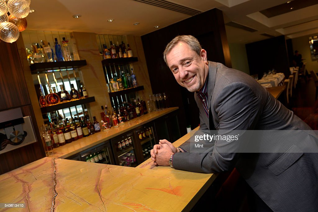Mario Maccioni, owner of restaurant Le Cirque, photographed at The Leela hotel on November 29, 2013 in Mumbai, India.