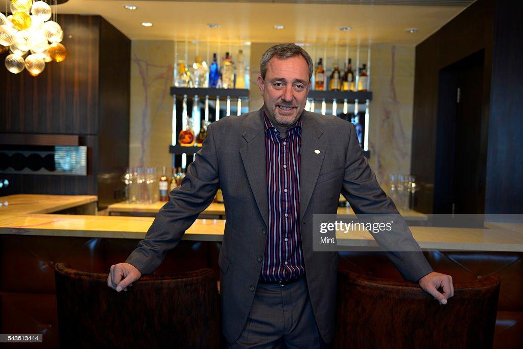 Mario Maccioni, owner of restaurant Le Cirque, photographed at The Leela hotel on November 29, 2013 in Mumbai, India.