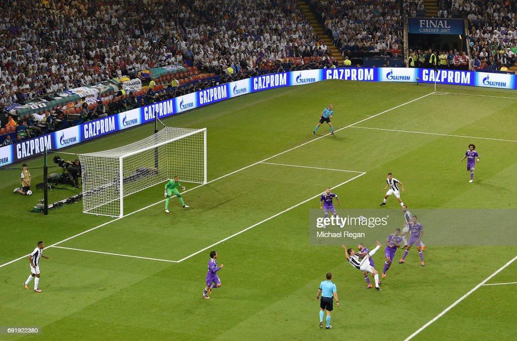 هدف يوفنتوس الاول في مرمى ريال مدريد