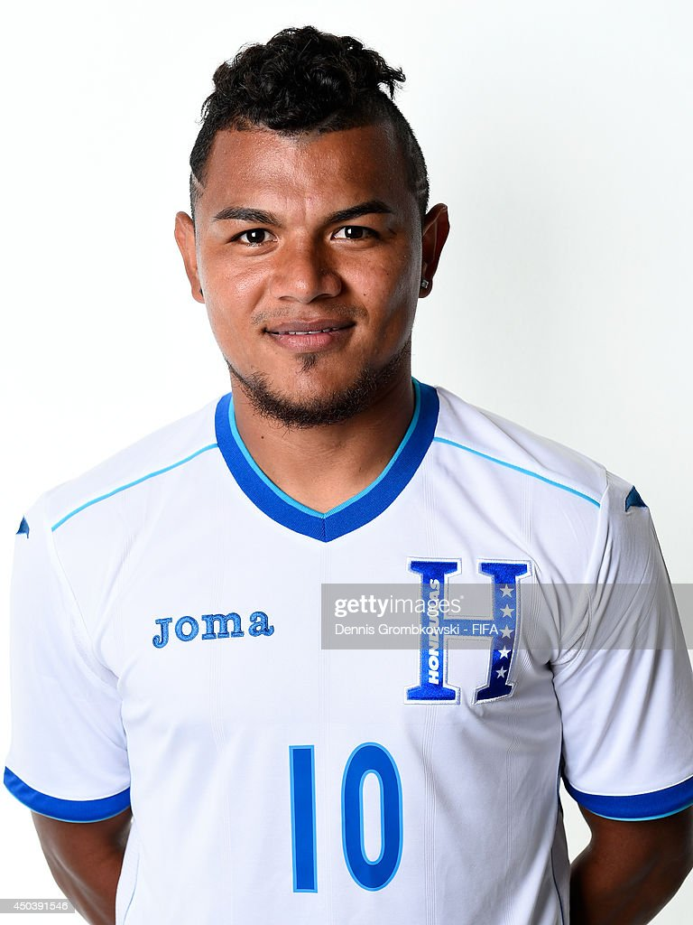 Mario Martinez of Honduras poses during the Official FIFA World Cup 2014 portrait session on June 10, 2014 in Porto Feliz, Brazil.
