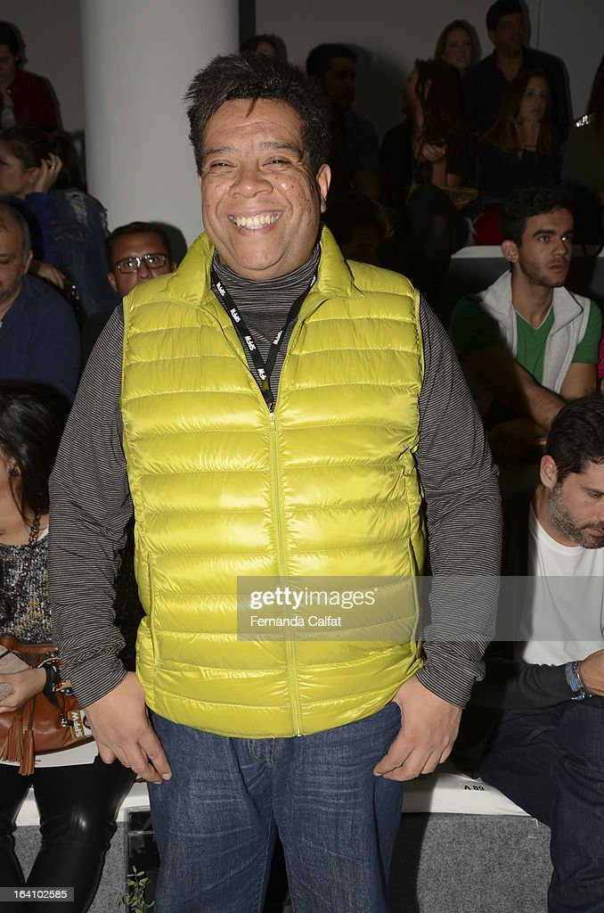 Mario Mendes at the Forum show during Sao Paulo Fashion Week Summer 2013/2014 on March 19, 2013 in Sao Paulo, Brazil.