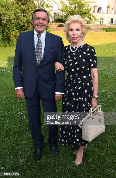 Mario Ohoven and Ute Ohoven seen during the 2017 Henry A Kissinger Prize at the American Academy in Berlin on June 20 2017 in Berlin Germany