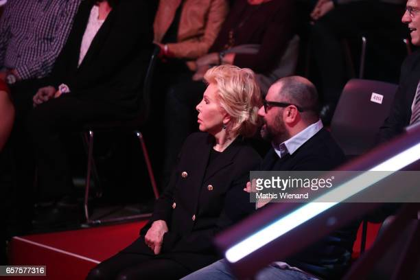 Mario Ohoven and UteHenriette Ohoven during the 2nd show of the tenth season of the television competition 'Let's Dance' on March 24 2017 in Cologne...