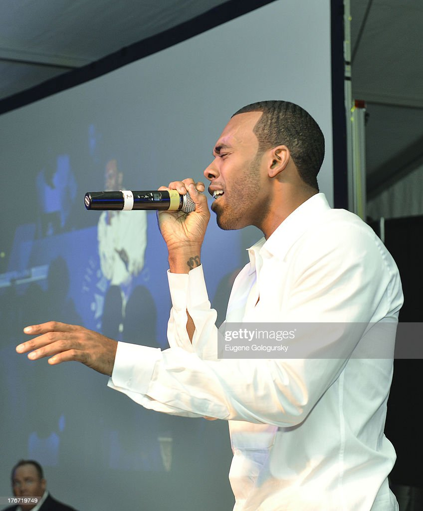 Mario performs at the The Compound Foundation 2nd Annual 'Fostering A Legacy' Benefit Hosted By Ne-YO & Mission BIG on August 17, 2013 in East Hampton, New York.