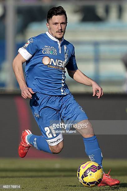 Mario Rui of Empoli FC in action during the Serie A match between Empoli FC and AC Cesena at Stadio Carlo Castellani on February 8 2015 in Empoli...