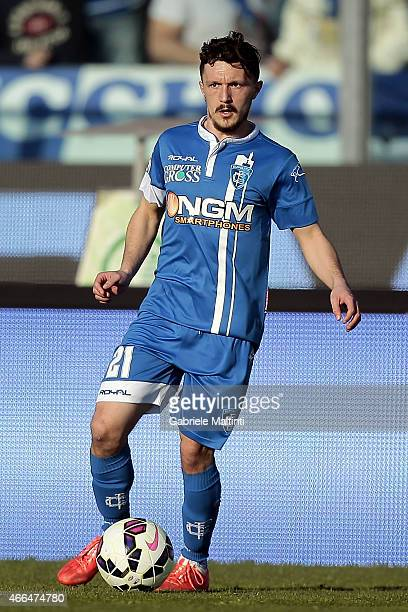 Mario Rui of Empoli FC in action during the Serie A match between Empoli FC and Genoa CFC at Stadio Carlo Castellani on March 8 2015 in Empoli Italy