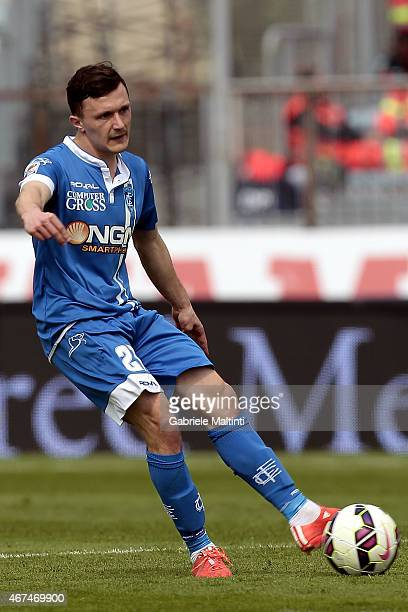 Mario Rui of Empoli FC in action during the Serie A match between Empoli FC and US Sassuolo Calcio at Stadio Carlo Castellani on March 22 2015 in...