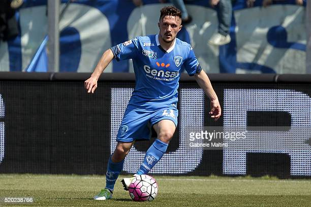 Mario Rui of Empoli Fc in action during the Serie A match between Empoli FC and ACF Fiorentina at Stadio Carlo Castellani on April 10 2016 in Empoli...