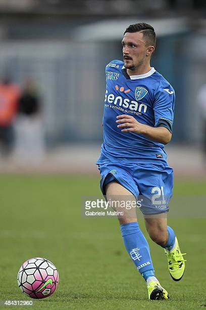 Mario Rui of Empoli FC in action during the TIM Cup match between Empoli FC and Vicenza Calcio at Stadio Carlo Castellani on August 15 2015 in Empoli...