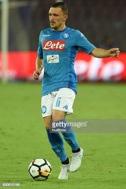 Mario Rui of SSC Napoli during the Preseason Frendly match between SSC Napoli and RCD Espanyol at Stadio San Paolo Naples Italy on 10 August 2017