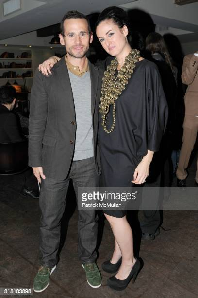 Mario Ruiz and Lesley MM Blume attend 'Forgotten Fashion' book party honoring the release of Let's Bring Back by Lesley MM Blume at Library on...
