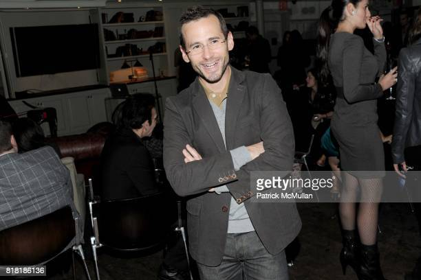 Mario Ruiz attends 'Forgotten Fashion' book party honoring the release of Let's Bring Back by Lesley MM Blume at Library on November 16 2010 in New...