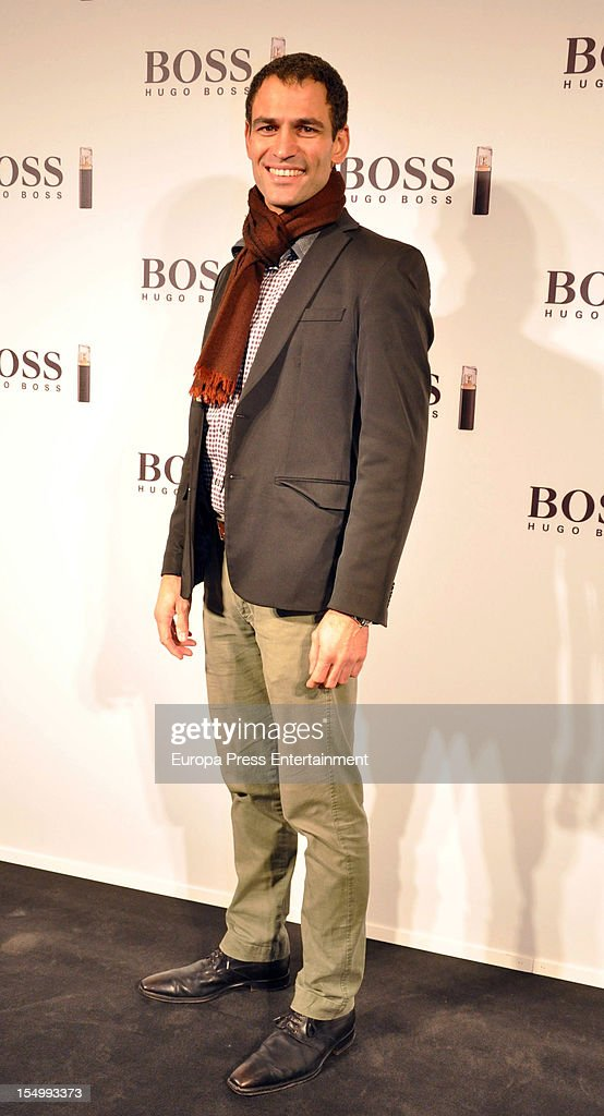 Mario Sandoval attends the launch of 'Boss Nuit Pour Femme' fragrance on October 29, 2012 in Madrid, Spain.