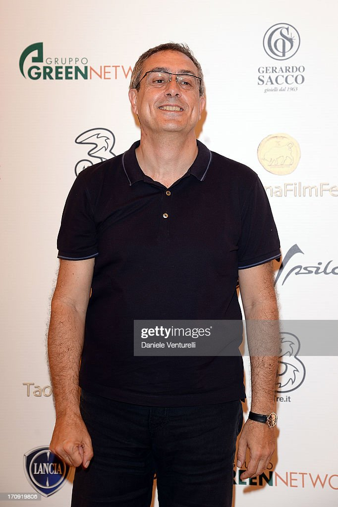 Mario Sesti attends a photocall as part of Taormina Filmfest 2013 on June 20, 2013 in Taormina, Italy.