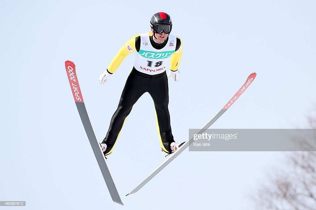 <a gi-track='captionPersonalityLinkClicked' href=/galleries/search?phrase=Mario+Stecher&family=editorial&specificpeople=724611 ng-click='$event.stopPropagation()'>Mario Stecher</a> of Austria competes in the LH Individual Gundersen during the day two of FIS Men's Nordic Combined World Cup at Okurayama Ski Jump Stadium on January 24, 2015 in Sapporo, Japan.