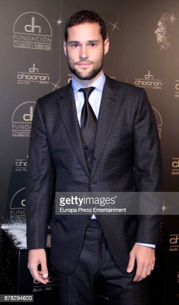 Mario Suarez attends the Chocron Jewelry party in the retirement park of Florida on November 22 2017 in Madrid Spain
