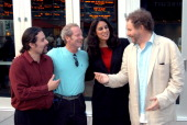 Mario Tafur Peter Mullan Bonnie Abaunza and Mike Figgis *Exclusive*