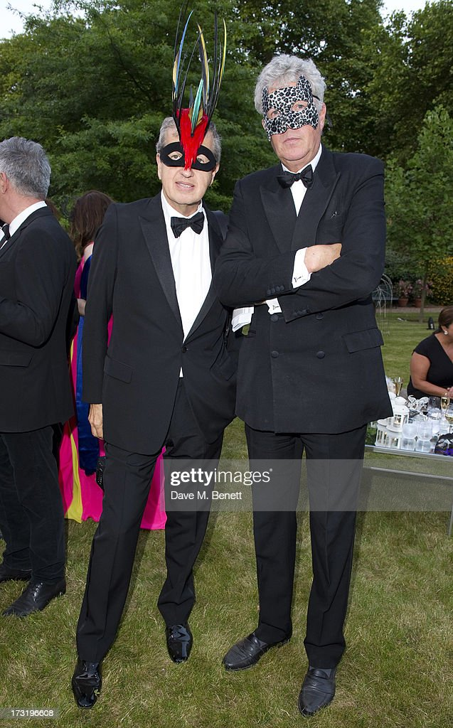 Mario Testino and Henry Wyndham attend The Elephant Family presents 'The Animal Ball' at Lancaster House on July 9, 2013 in London, England.