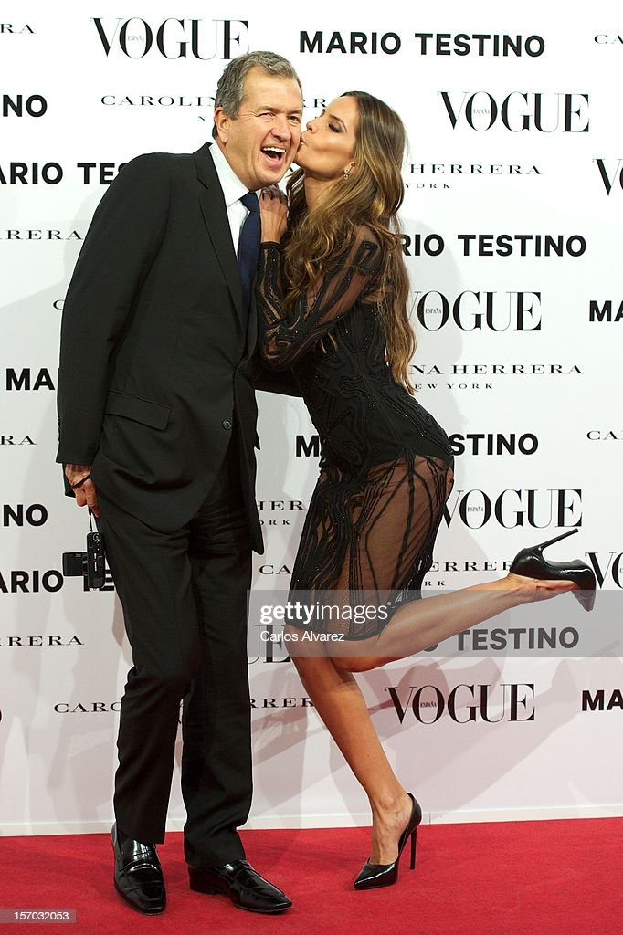 <a gi-track='captionPersonalityLinkClicked' href=/galleries/search?phrase=Mario+Testino&family=editorial&specificpeople=203087 ng-click='$event.stopPropagation()'>Mario Testino</a> and <a gi-track='captionPersonalityLinkClicked' href=/galleries/search?phrase=Izabel+Goulart&family=editorial&specificpeople=566749 ng-click='$event.stopPropagation()'>Izabel Goulart</a> attend the Vogue & <a gi-track='captionPersonalityLinkClicked' href=/galleries/search?phrase=Mario+Testino&family=editorial&specificpeople=203087 ng-click='$event.stopPropagation()'>Mario Testino</a> party at Fernan Nunez Palace on November 27, 2012 in Madrid, Spain.