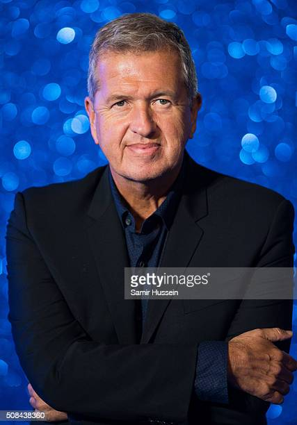 Mario Testino attends a London Fan Screening of the Paramount Pictures film 'Zoolander No 2' at Empire Leicester Square on February 4 2016 in London...
