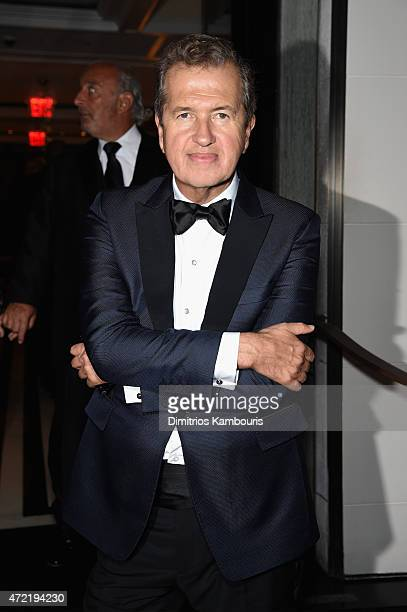 Mario Testino attends Michael Kors and iTunes After Party at The Mark Hotel on May 4 2015 in New York City
