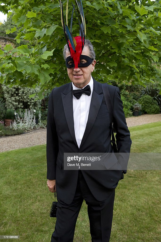Mario Testino attends The Elephant Family presents 'The Animal Ball' at Lancaster House on July 9, 2013 in London, England.
