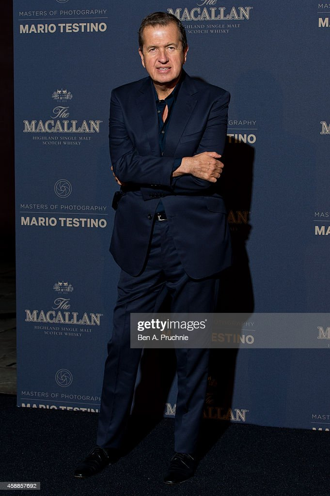 The Macallan Masters Of Photography: Mario Testino Edition - UK Launch Event