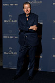 Mario Testino attends The Macallan Masters of Photography Mario Testino Edition launch party at The Ritz on November 12 2014 in London England