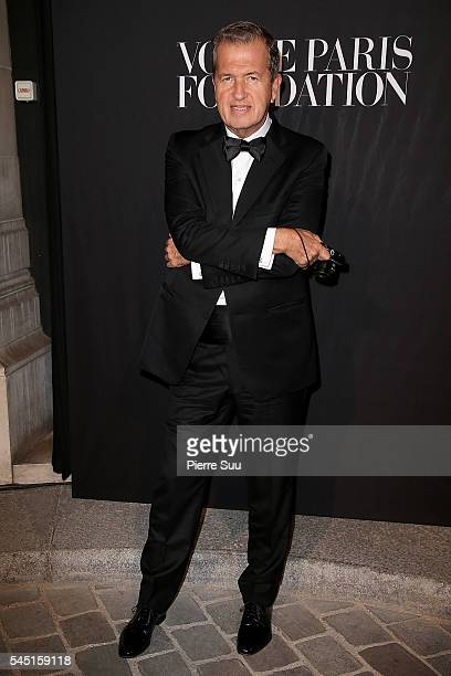 Mario Testino attends the Vogue Foundation Gala 2016 at Palais Galliera on July 5 2016 in Paris France