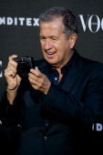 Mario Testino attends 'Vogue Who«s On Next' party at EMbassy of Italy on June 17 2014 in Madrid Spain