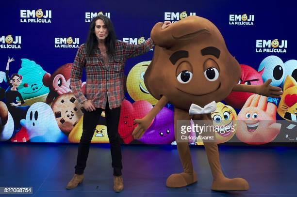 Mario Vaquerizo attends 'Emoji La Pelicula' photocall at La Casa del Lector on July 25 2017 in Madrid Spain
