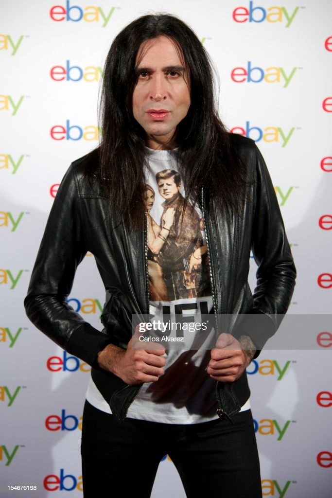 Mario Vaquerizo attends the 'Ebay 10th Anniversary' party at the OUI Madrid Club on October 24, 2012 in Madrid, Spain.