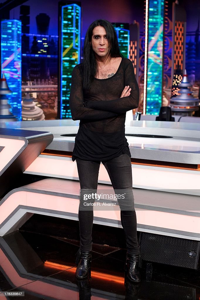Mario Vaquerizo attends the 'El Hormiguero 3.0' new season presentation at the Vertice Studio on August 29, 2013 in Madrid, Spain.