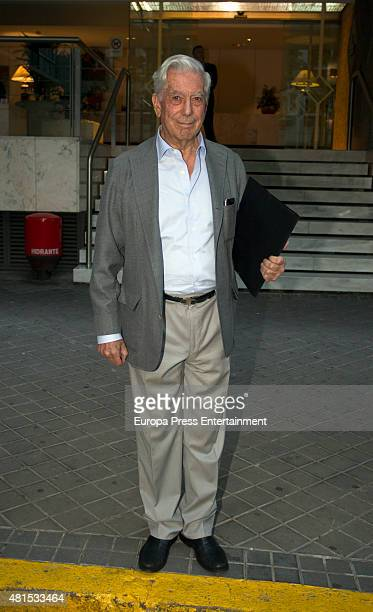 Mario Vargas Llosa is seen on June 25 2015 in Madrid Spain