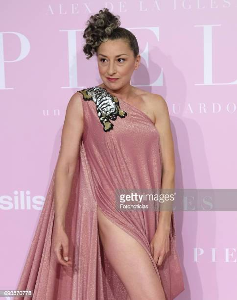 Mariola Fuentes attends the 'Pieles' premiere pink carpet at Capitol cinema on June 7 2017 in Madrid Spain